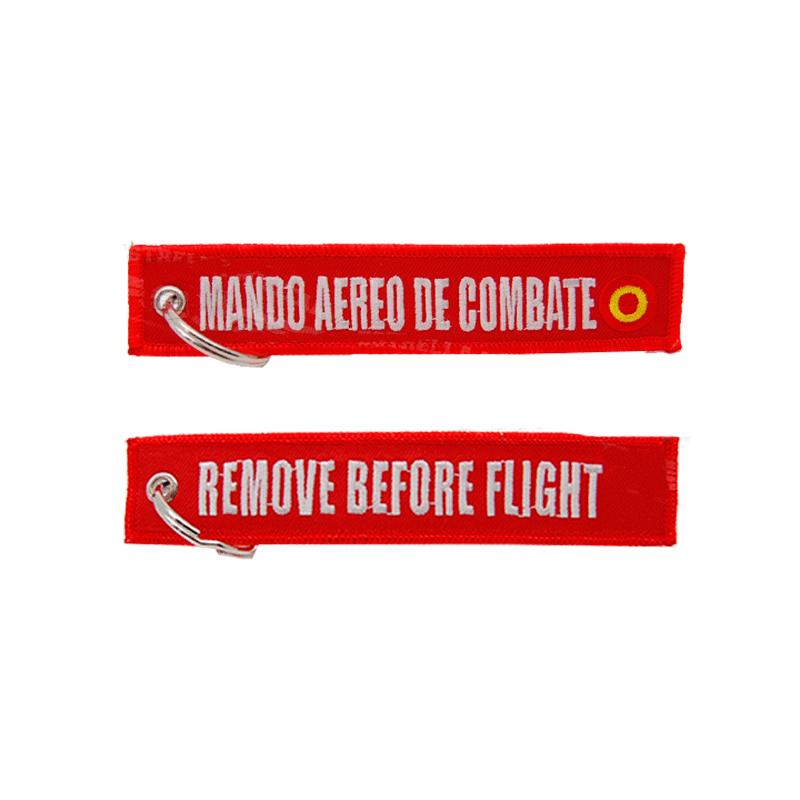 Imagen de Llavero Bordado Mando Aereo de Combate RBF por Estrella Militar
