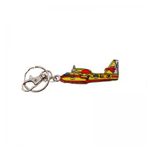 Llavero Bordado Avión Canadair