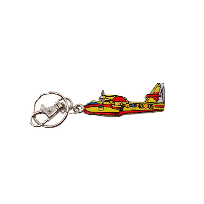 Imagen de Llavero Bordado Avión Canadair por Estrella Militar