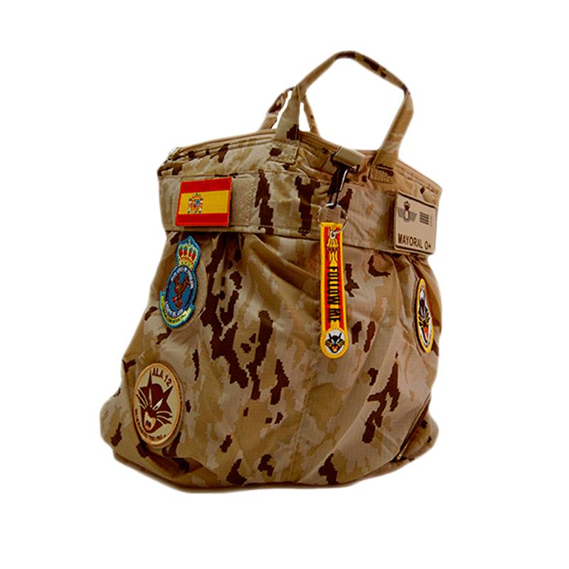 Imagen de Bolsa de piloto de camuflaje arido pixelado por Estrella Militar