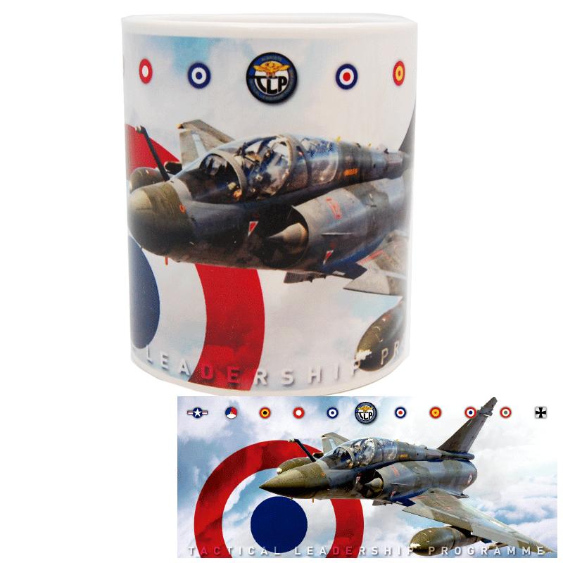 Imagen de Taza TLP Mirage 2000 con escarapela de Francia por Estrella Militar