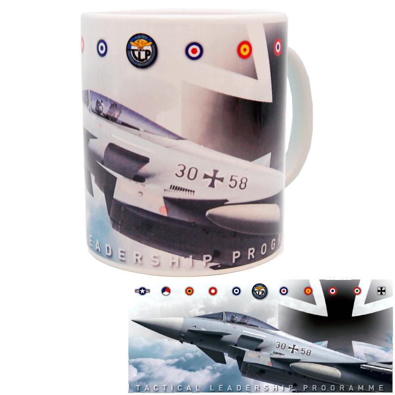 Imagen de Taza TLP Eurofighter con escarapela de Alemania por Estrella Militar