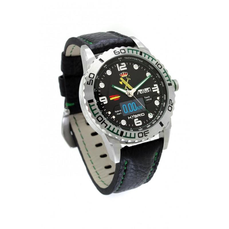 Imagen de Reloj Aviador Hybrid Guardia Civil por Estrella Militar