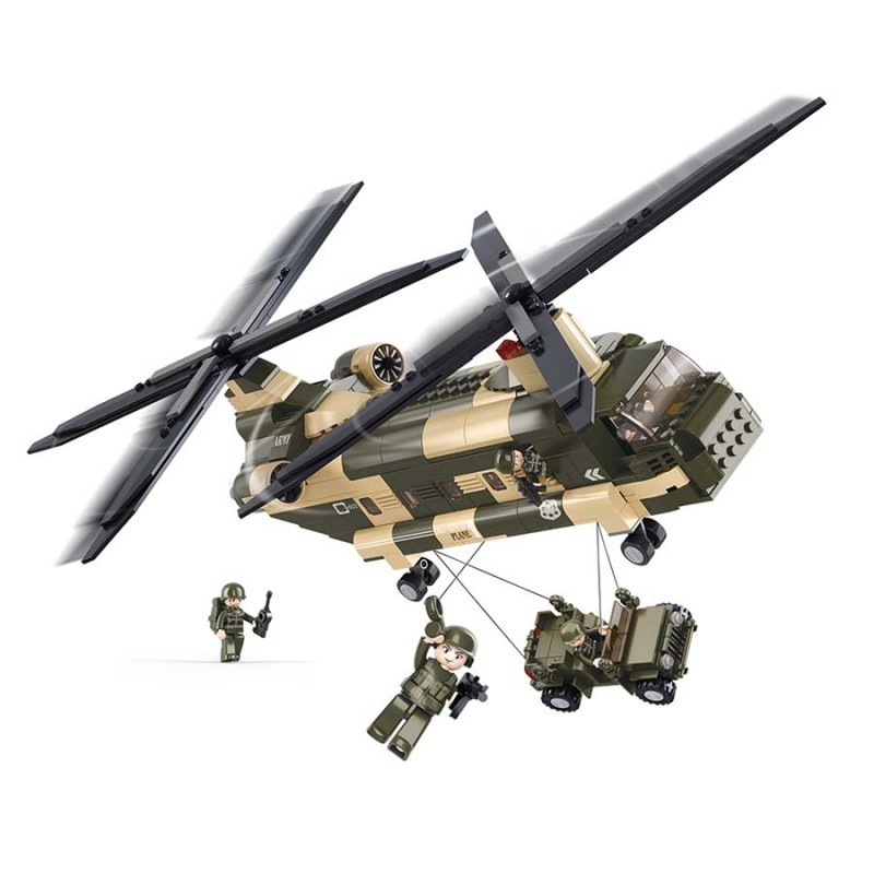 Imagen de Sluban Chinook Helicóptero por Estrella Militar