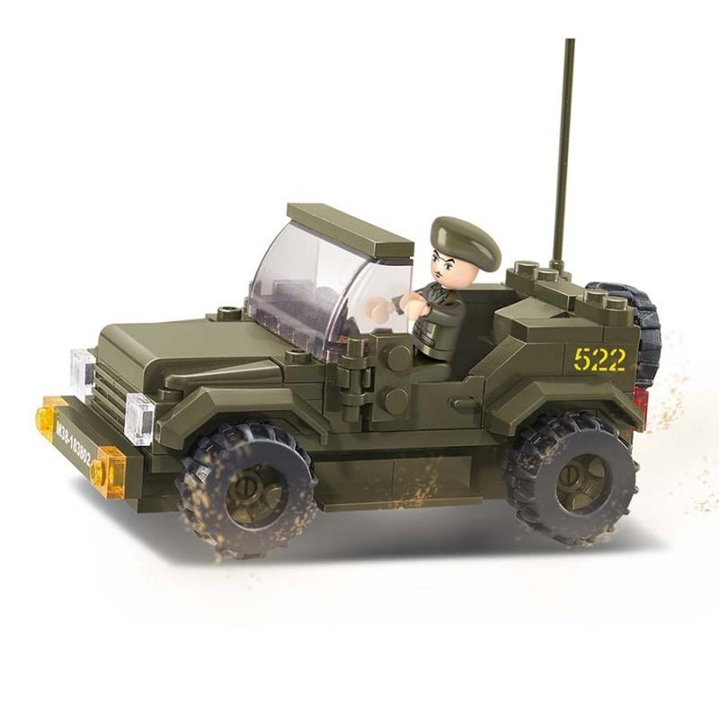 Imagen de Sluban Jeep por Estrella Militar