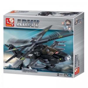 Sluban Apache Helicóptero