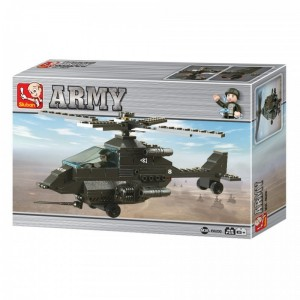Sluban Helicóptero Ataque
