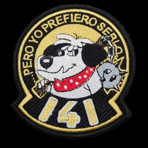 Imagen de Parche bordado Escuadrón 141 por Estrella Militar