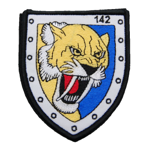 Imagen de Parche bordado escuadrón 142 por Estrella Militar