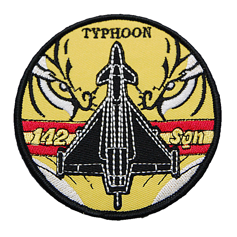 Imagen de Parche bordado Escuadrón 142 Eurofighter por Estrella Militar