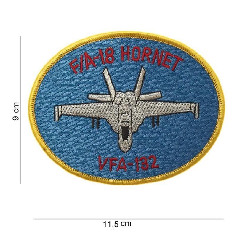 Imagen de Parche bordado F-18 Hornet VFA-132 por Estrella Militar