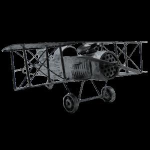 Maqueta de biplano grande