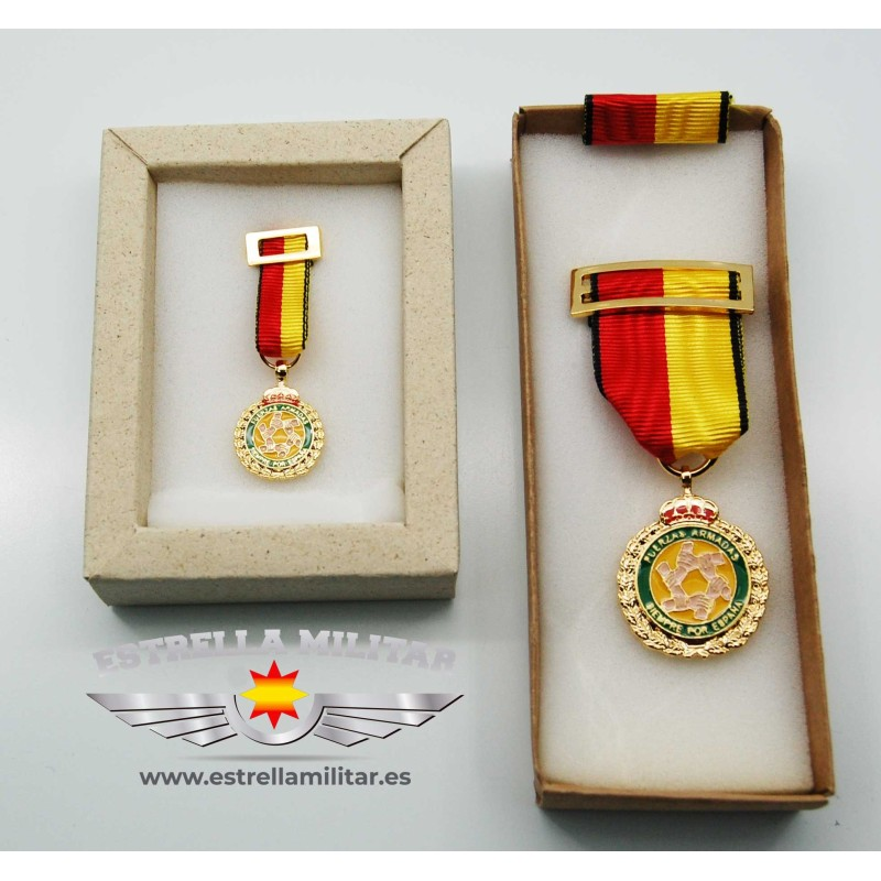 Imagen de Medalla miniatura operación BALMIS por Estrella Militar