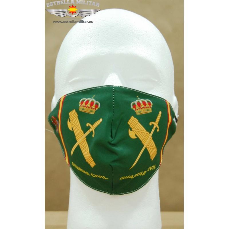 Imagen de Mascarilla facial Guardia Civil por Estrella Militar