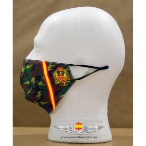 Imagen de Mascarilla facial Ejército de Tierra por Estrella Militar