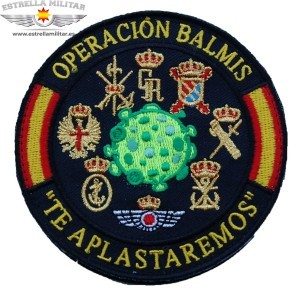 Parche bordado Operación...