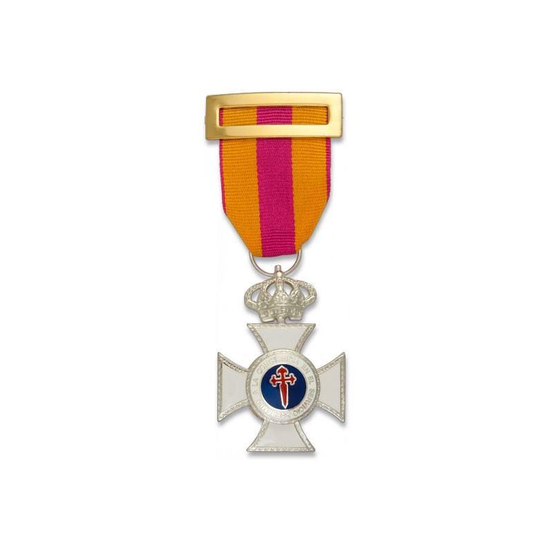Imagen de Cruz a la constancia en el servicio PLATA por Estrella Militar