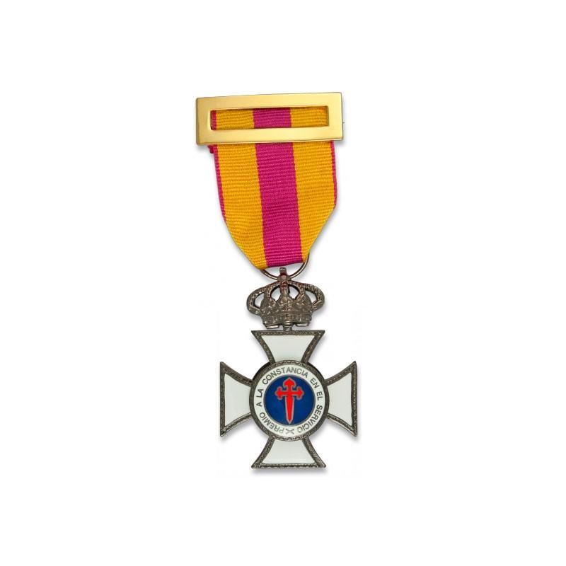 Imagen de Cruz a la constancia en el servicio BRONCE por Estrella Militar