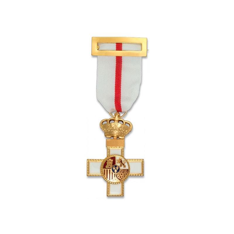 Imagen de Cruz al Mérito Militar distintivo BLANCO por Estrella Militar