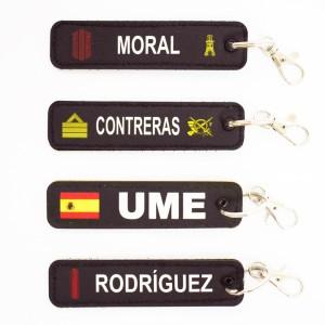 Llavero personalizado UME