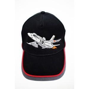 Gorra Bordada F-18 Negro /...