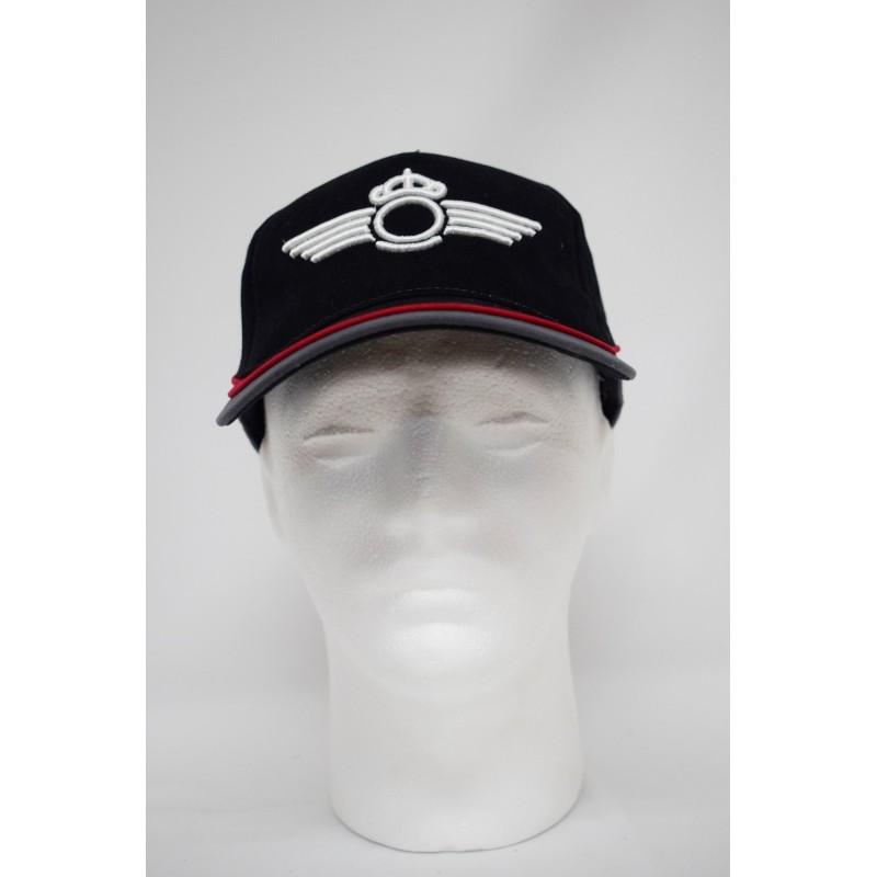 Imagen de Gorra bordada Roquisqui del Ejército del Aire Negra/gris por Estrella Militar