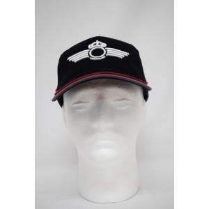 Imagen de Gorra bordada Roquisqui del Ejército del Aire Negra-Gris por Estrella Militar