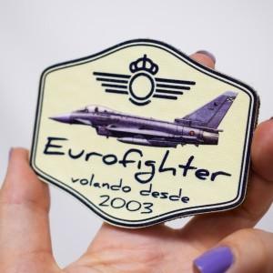 Parche Nylon 3D Eurofighter