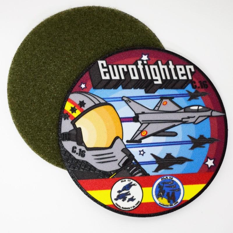 Imagen de Parche Nylon 3D Eurofighter Ala 11 Ala 14 por Estrella Militar