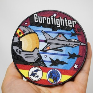 Parche Nylon 3D Eurofighter...