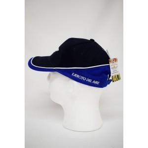 Imagen de Gorra bordada Roquisqui del Ejército del Aire Negra-Azul por Estrella Militar