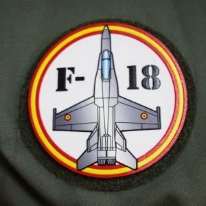 Imagen de Parche Nylon 3D F-18 por Estrella Militar