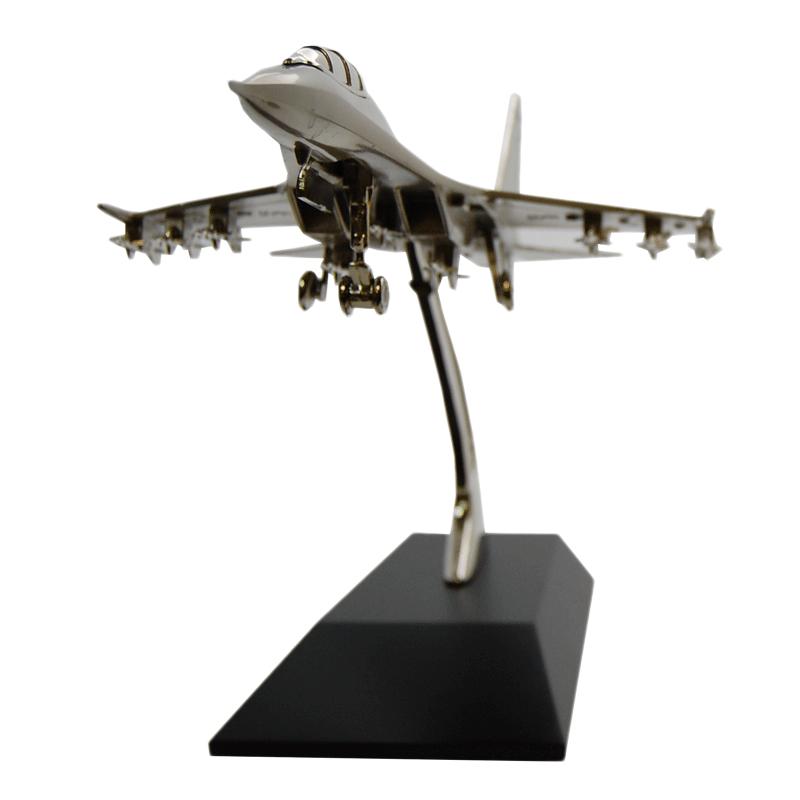 Imagen de Maqueta de avión de combate plateado por Estrella Militar