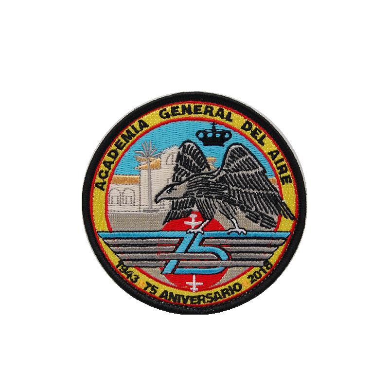 Imagen de Parche bordado 75 Aniversario Academia General del Aire por Estrella Militar