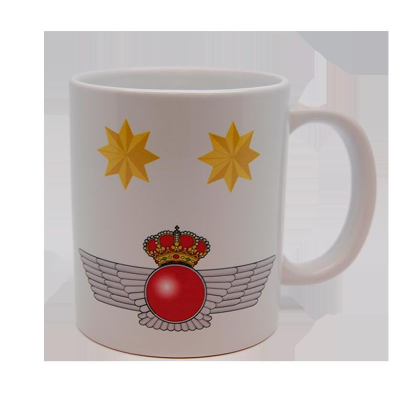 Imagen de Taza de divisas de teniente coronel por Estrella Militar