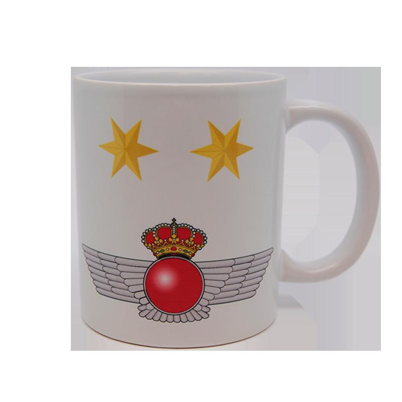 Imagen de Taza de divisas de teniente por Estrella Militar