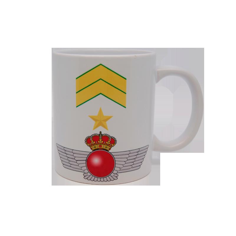 Imagen de Taza de divisas de Suboficial Mayor por Estrella Militar