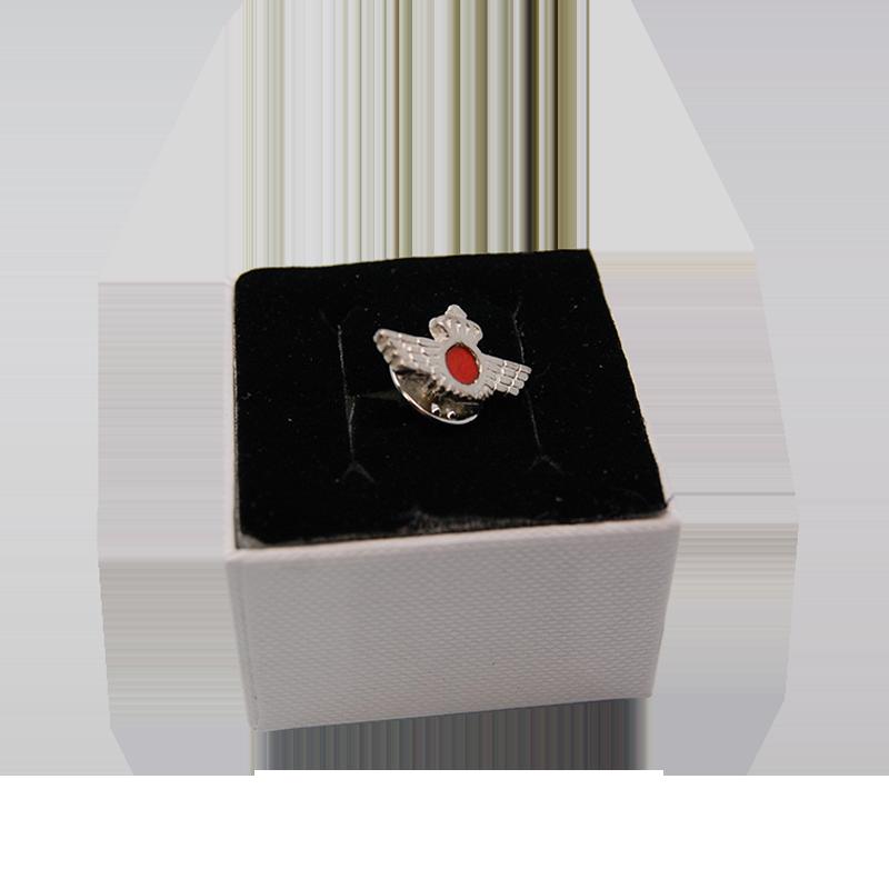 Imagen de Pin de plata Roquisqui por Estrella Militar