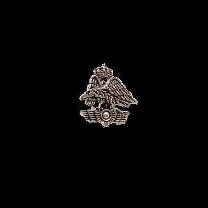 Pin Escudo A.G.A. Plateado