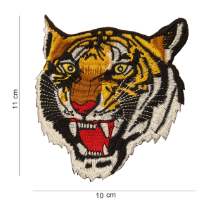 Parche bordado tigre bengala