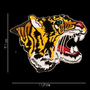 Parche bordado tigre