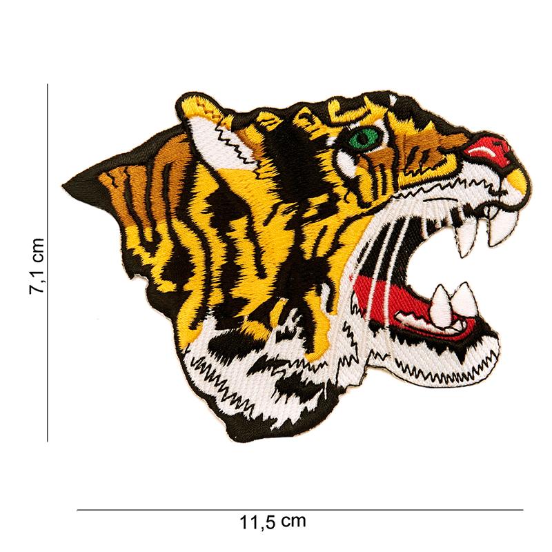 Imagen de Parche bordado tigre por Estrella Militar