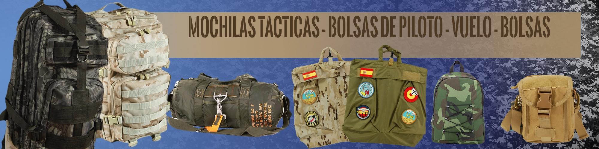 Mochilas tácticas - bolsas de piloto - bolsas de vuelo por estrella militar
