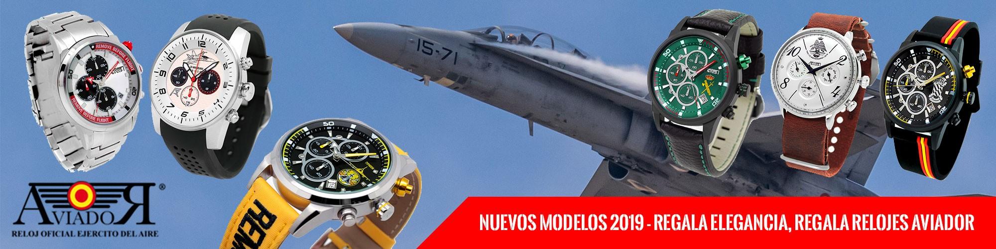 relojes de aviador - estrella militar