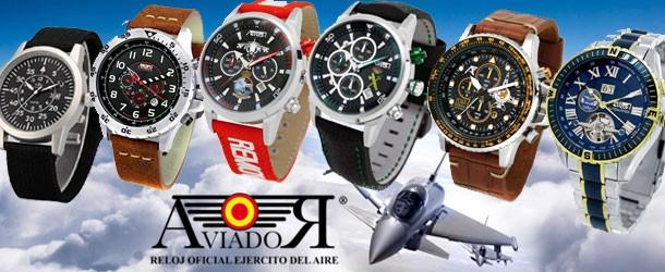 Relojes de aviador por Estrella Militar